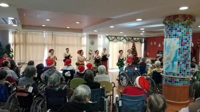 2017年12月17日 東村山市多摩すずらん「クリスマス会」